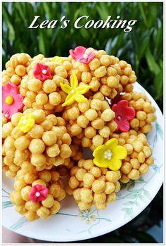 """Lea's Cooking: """"Caramel Kix Balls""""  http://leascooking.blogspot.com/2012/11/caramel-kix-balls.html"""