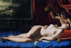 Artemisia Gentileschi - Sleeping Venus