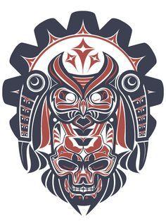 Haida Study by Joshua M. Smith, via Behance