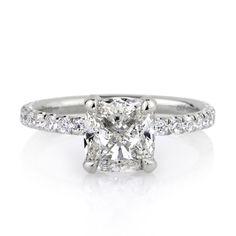 Cushion Cut Engagement Rings Simple 23