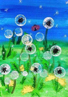 망원동 미술<미술작업실 미술교습소> 민들레 : 네이버 블로그 Spring Art Projects, Easy Art Projects, School Art Projects, Art Education Projects, Kindergarten Art, Preschool Art, Summer Arts And Crafts, Spring Crafts, Kids Art Class