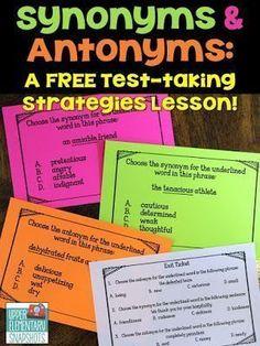 9 Ela Synonyms And Antonyms Ideas Synonyms And Antonyms Synonym Antonym