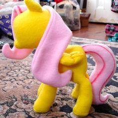 My Little Pony Plush Pattern Digital copy. $6.00, via Etsy.  MAKE MY OWN PONIES!