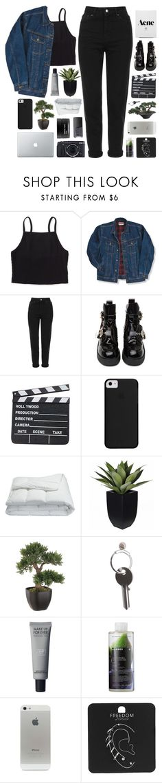 """""""LONDON"""" by feels-like-snow-in-september ❤ liked on Polyvore featuring Aéropostale, Wrangler, Topshop, Jeffrey Campbell, Frette, Fujifilm, Maison Margiela, NARS Cosmetics, Korres and Koh Gen Do"""