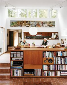 Displaying Book, Movie & Music Collections — Inspiration Gallery | Apartment Therapy