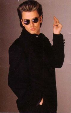 """I actually like this pic of John Taylor he's like """"Mmm-hmm, you can't beat this."""" xD"""