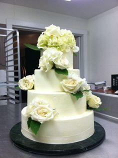 Wedding cake by Pangaea Catering N. Bennington, VT. (http://www.facebook.com/pangaea.vt)