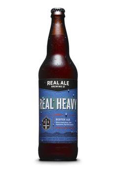 Real Heavy Scotch Ale, Real Ale Brewing, Blanco, Texas.