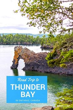 Thunder Bay in Ontario, Canada, is a wonderful destination for a road trip. We spent a few rainy days exploring the area and had a great time! Backpacking Canada, Canada Travel, Canada Trip, Alberta Canada, Quebec, Thunder Bay Canada, Vancouver, Toronto, Ontario Travel