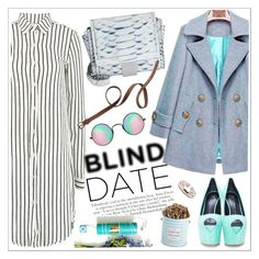 """""""What to Wear: Blind Date"""" by teoecar ❤ liked on Polyvore featuring Maison Margiela, Giuseppe Zanotti, Reclaimed Vintage, The Hampton Popcorn Company, Madewell, women's clothing, women, female, woman and misses"""