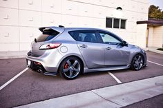 Silver Speed3, lip kit, black roof