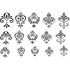 From Cool Tools. Stencil Designs, Henna Designs, Nail Art Designs, Folk Embroidery, Embroidery Patterns, Marquesan Tattoos, Modern Romance, Quilling Designs, Flower Doodles