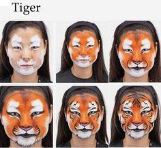 Tigre, paso a paso.