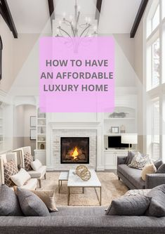 Make your dream luxury home with affordable tips. This is the easiest way to affordable luxury home design.  #Affordable_Luxury_Home_Design_Ideas #Affordable_Luxury_Home_Design #Luxury_Home_Design #LuxLandHome Luxury Homes, Design Ideas, House Design, Tips, Easy, Home Decor, Luxurious Homes, Luxury Houses, Decoration Home
