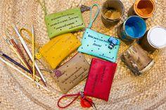 Nuevas bolsitas con mensaje, seguro que te sacan una sonrisa ;) Dairy, Cheese, Purses, Food, Sachets, Smile, Messages, Handbags, Essen