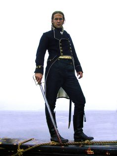 James D'Arcy in Master and Commander as 1st Lt. Tom Pullings. William Huff makeup and costume design by Wendy Stites. (2003)