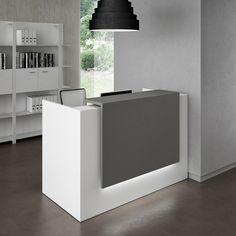 Mostrador para recepción modular Z2 - Quadrifoglio Sistemi d'Arredo