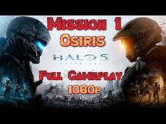 Halo 5 Guardians Walkthrough Gameplay Mission 1 - Osiris