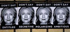 LA Street Artist Launches Anti-Clinton Campaign |