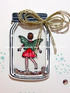 Fairy Celebration, Jar of Love, Stampin' Up! #stampinup
