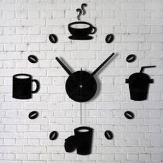 DIY - relógio para cozinha