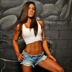 Brittany Bishop - Female Fitness  #fitnessfriday