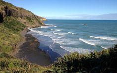 Murawai Beach New Zealand