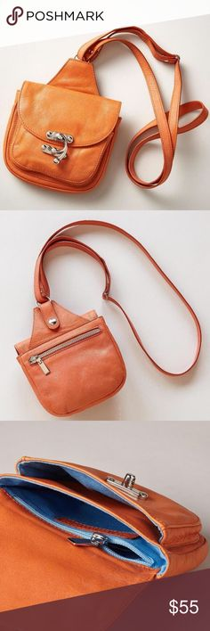 "NWOT Sundance Leather 'Go Anywhere' Crossbody The chic Italian crossbody bag that you'll take with you everywhere  Glamour comes in small packages... Our exclusive, Italian bag features all the necessities in a compact, go-anywhere, crossbody style.  Multiple zip pockets.  Leather.  Approx. 6-1/2""W x 2""D x 6""H.  New w/out tags Sundance Bags Crossbody Bags"