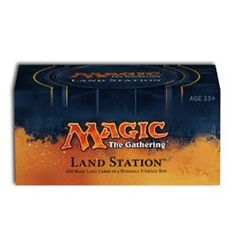 MTG Magic The Gathering Land Station 2014 (400 Basic Lands - 80 of each. Includes 400 basic land to help anyone with starting out a collection of decks. These cards are factory sealed and in Mint condition, no beat up or played lands, all new. Age: 3 years. Great to help with deck building and to get everything you need! Includes a box to hold your collection, or newly made decks! Want to get started with deck building.