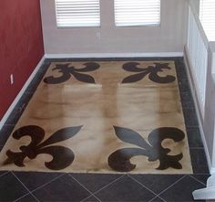 Stained concrete!<3