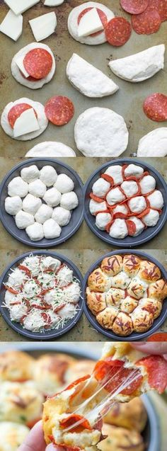 Skip the pizza delivery! Enjoy these easy, cheesy pepperoni Pizza Bites hot and … Skip the pizza delivery! Enjoy these easy, cheesy pepperoni Pizza Bites hot and fresh from the oven. You'll want to double the batch! Pizza Recipes, Appetizer Recipes, Snack Recipes, Cooking Recipes, Budget Cooking, Easy Recipes, Skillet Recipes, Simple Dinner Recipes, Crowd Appetizers