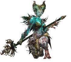 Sylvari from Guild Wars 2
