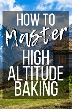 Baking at High Altitude can be HARD! I bake, gluten-free, in Colorado and it can be really tricky sometimes. Here's some adjustments for your recipes - so your cookies, cakes, cupcakes (and more) can actually turn out how they're supposed to! High Altitude Biscuit Recipe, High Altitude Baking, Baking Tips, Bread Baking, Baking Recipes, Baking Cupcakes, Cupcake Cakes, Crock Pot, Cuban Bread