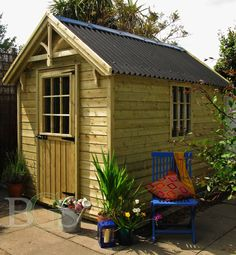 Cottage style garden shed.Boyne garden sheds. High quality garden sheds in Ireland Garden Sheds Ireland, Dublin, Ireland Homes, Lodges, Cottage Style, Pavilion, Outdoor Structures, Gallery, House