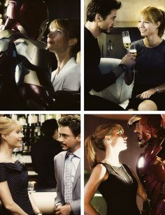Tony Stark - Iron Man & Pepper Potts