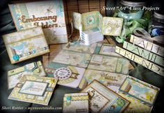 Awesome CTMH Skylark ideas by Sheri Rottler and several of her team, the Sweet Hearts!  Credit going to: Fran Scott, Jill Thomason, & Lori Cash.  Beautiful!