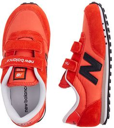 I adore these Kids' New Balance® KE410 sneakers!  My son still can't pull off laces, so finding a stylish pair of velcro sneakers is key.