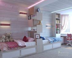 Простая гармония, FoxLab Interior, Детская комната, Дизайн интерьеров Formo.ua