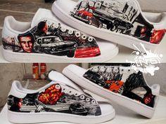 Adidas Stan smith – Bullit | Noise aka N°15 | Paint | Graphic design | Street art