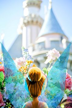 Tink, Tinkerbell, Tinker Bell and Blaze in Disneyland