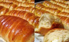 Τυροπιτάκια με γιαούρτι: Μαλακά και αφράτα, κατάλληλα για κολατσιό Hot Dog Buns, Hot Dogs, Bread, Cheese, Food, Brot, Essen, Baking, Meals