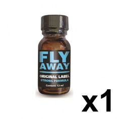 """Poppers """"Fly Away"""" Strong Formula 13 ml de Vital Perfect."""