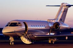 PRIVATE JETS  (AP). THE JET IS READY FOR DEPARTURE, MADAM...