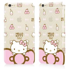 Sweet Hello Kitty case for iPhone 6 Plus ♪( ´▽`)