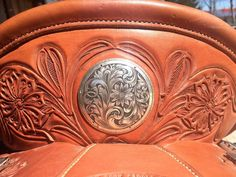Cowboy Engraving - saddle silver...conchos...buckles...cantle plates....horn caps