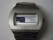 Dugena Automatic Digital Herren Armbanduhr der 70er Jahren