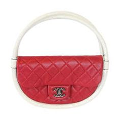 2013 - Chanel Runway Hula Hoop Bag in Lipstick Red