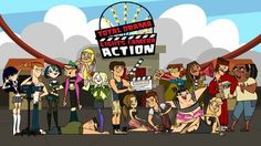 Total Drama Action (no Brasil, Luzes, Drama, Ação! e em Portugal Drama Total em Acção ou Ilha dos Desafios II) é a ...