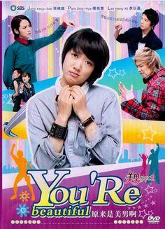 you're beautiful korean drama Korean Drama Eng Sub, Korean Drama Movies, Korean Actors, Beautiful You Korean Drama, You're Beautiful, Kdrama, Park Shin Hye, Live Action, Banda Kpop
