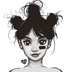 Look's just like left eye! Love how they drew the difference in her left and right eye by drawing the left more slanted like how It actually was.